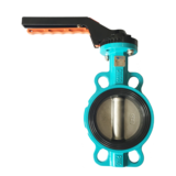 Anti-condensation butterfly valve